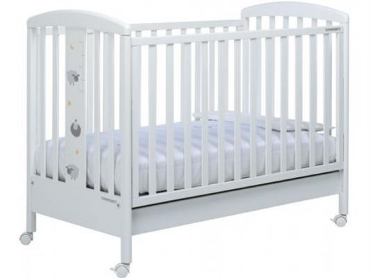 Кроватка Foppapedretti Pekos (белый)