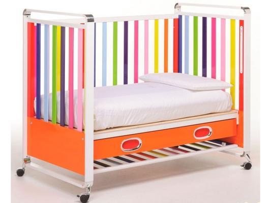 Кроватка Foppapedretti Fred Lettino (разноцветный) кроватка без укачивания foppapedretti fred lettino 125x65 см разноцветный