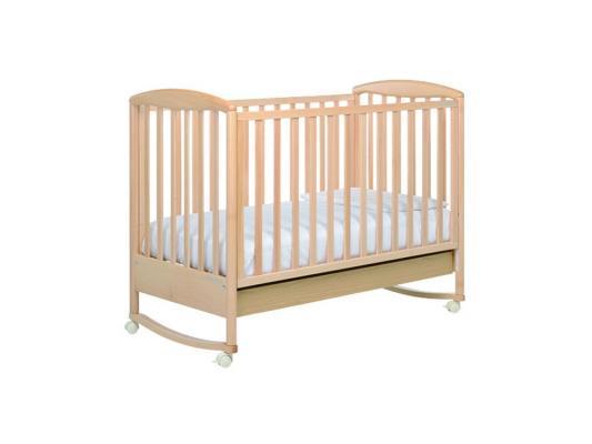 Кроватка-качалка Foppapedretti Liuba (натуральный)