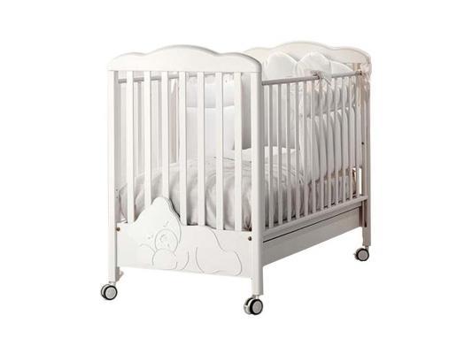 Кроватка Baby Expert Coccolo Lux (белый) комоды baby expert baby coccolo lux пеленальный со стразами