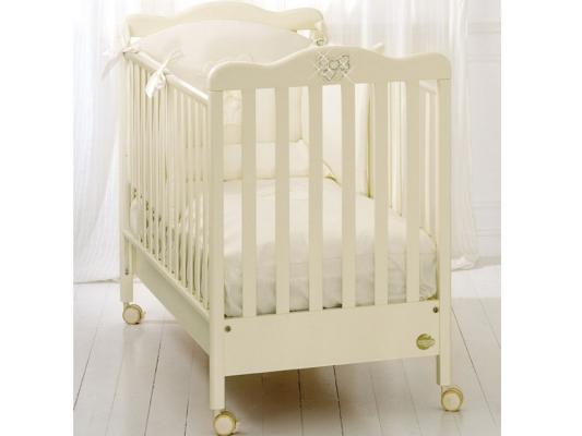 Кроватка-качалка Baby Expert Fiocco (крем)