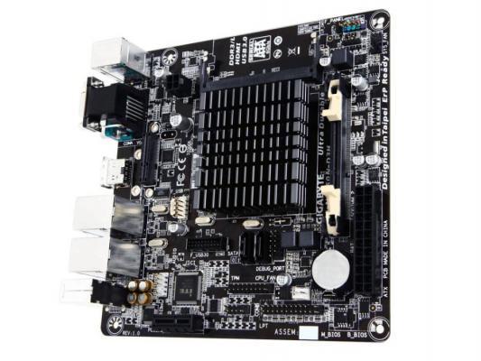 Мат. плата для ПК GigaByte GA-N3050N-D3H с процессором Intel 2xDDR3 1xPCI-E 1x 2xSATAIII mini-ITX Retail