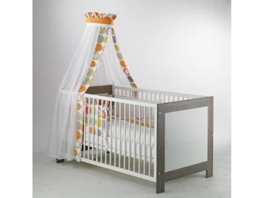 Кроватка-трансформер Geuther Marlene (белый) geuther family и filoг звезды