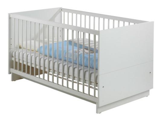 Кроватка-трансформер Geuther Fresh (белый)
