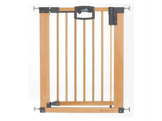 Купить Ворота безопасности Geuther Easy Lock Natural (80, 5-88, 5см), натуральный, дерево