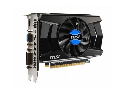 Видеокарта 1024Mb MSI GeForce GTX750Ti PCI-E DDR5 128bit DVI HDMI VGA HDCP N750TI-1GD5/OC Retail