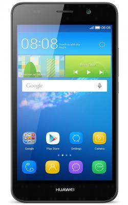 "Смартфон Huawei Ascend Y6 черный 5"" 8 Гб Wi-Fi GPS SCL-U31"