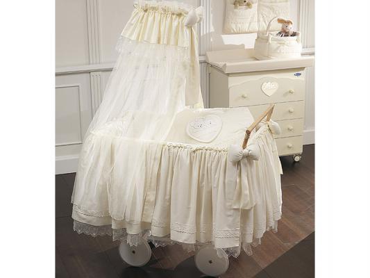 Кроватка-люлька класическая Italbaby Mon Coeur 460,0009-6