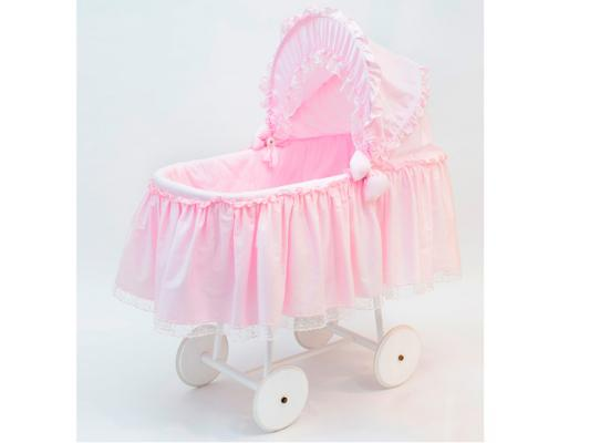 Кроватка-люлька Italbaby Mon Coeur (розовый) 340,0009-1 italbaby сумка переноска для новорожденного italbaby mon coeur