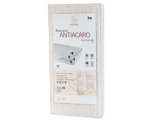 Матрас 63x125см Italbaby Antiacaro 010,0620- italbaby набор для коляски antiacaro подушка матрас