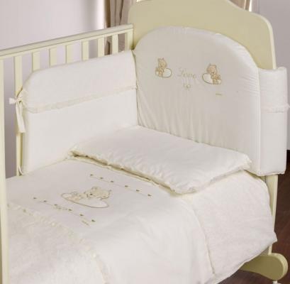 Сменное постельное белье Italbaby Love (beige/020.1130-40) кроватка italbaby love
