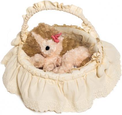 Плетеная корзина без крышки Italbaby Cuccioli текстиль бежевый 630,0062-