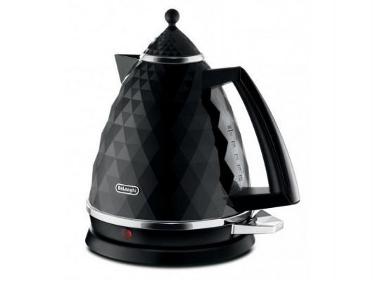 Чайник DeLonghi KBI 2001 BK 2000 чёрный 1.7 л пластик