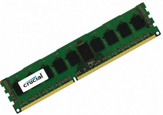 Оперативная память 4Gb PC3-12800 1600MHz DDR3 DIMM ECC Crucial CT4G3ERSLS8160B
