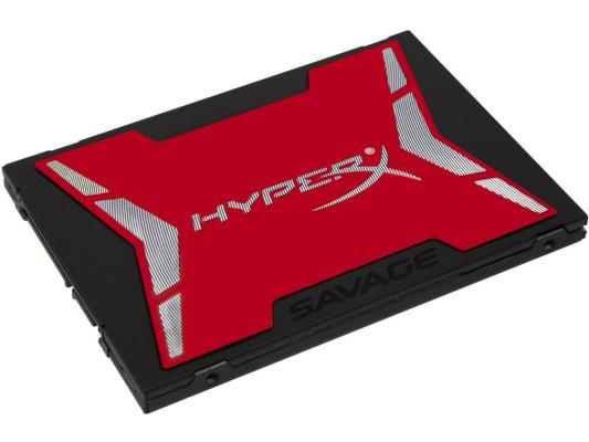 SSD Твердотельный накопитель 2.5 960GB Kingston HyperX Savage Read 520Mb/s Write 490Mb/s SATAIII SHSS37A/960G