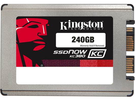 "SSD Твердотельный накопитель 1.8"" 240 Gb Kingston SSDNow KC380 Read 540Mb/s Write 530Mb/s SATAIII SKC380S3/240G"