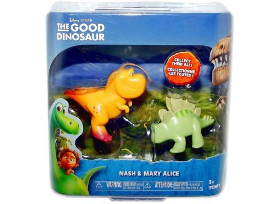 Набор фигурок Good Dinosaur Нэш и Стегозавр 62303 набор фигурок good dinosaur кеттл и раптор 62305