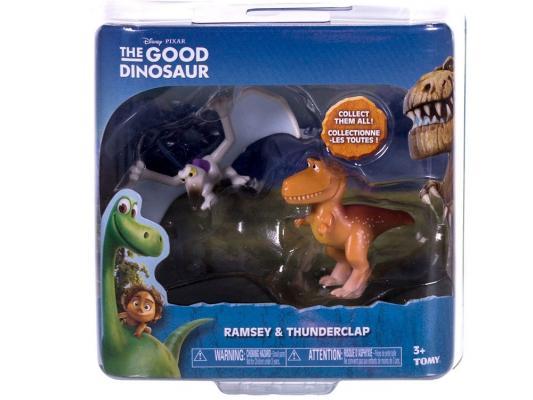 Набор фигурок Good Dinosaur Ремси и Птеродактиль 62304 набор фигурок good dinosaur кеттл и раптор 62305