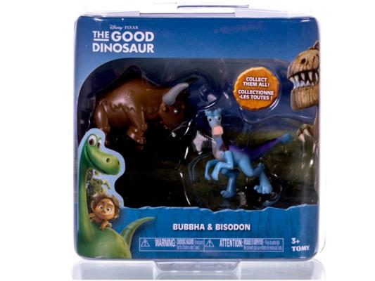 Набор фигурок Good Dinosaur Кеттл и Раптор 62305 набор фигурок good dinosaur кеттл и раптор 62305