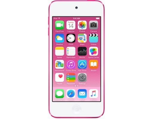 Плеер Apple iPod touch 32Gb MKHQ2RU/A розовый mp3 плеер apple ipod touch 6 32gb синий