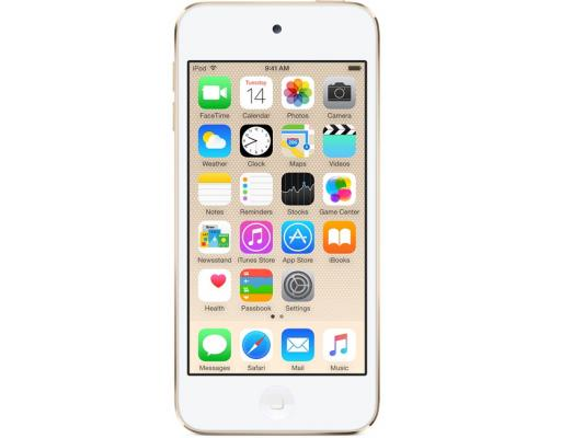 Плеер Apple iPod touch 32Gb MKHT2RU/A золотой