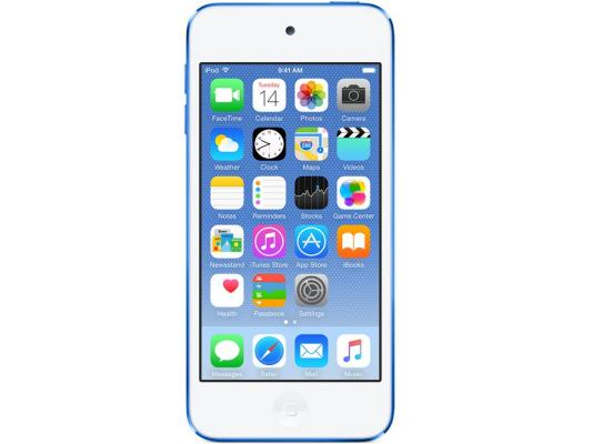 Плеер Apple iPod touch 64Gb MKHE2RU/A синий