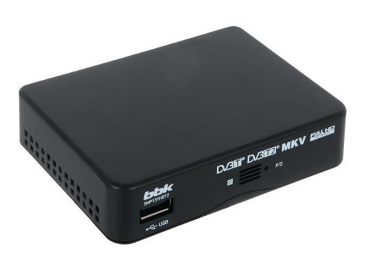 Тюнер цифровой DVB-T2 BBK SMP131HDT2 черный