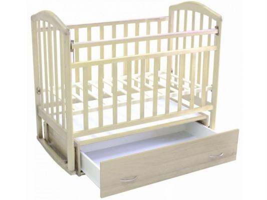 Кроватка с маятником Антел Алита-4 (слоновая кость)