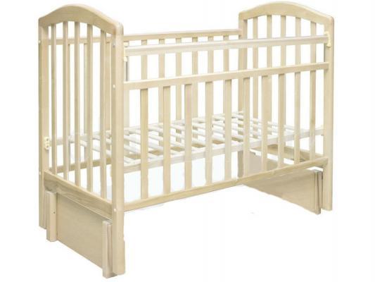 Кроватка с маятником Антел Алита-5 (слоновая кость)