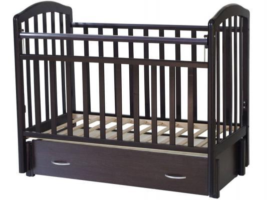 Кроватка с маятником Антел Алита-6 (венге)