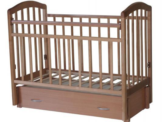 Кроватка с маятником Антел Алита-6 (орех)