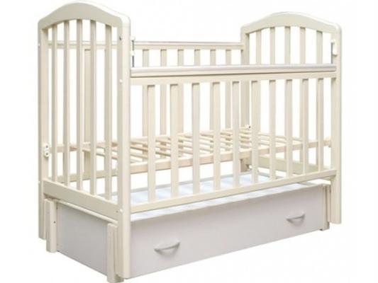 Кроватка с маятником Антел Алита-6 (слоновая кость)