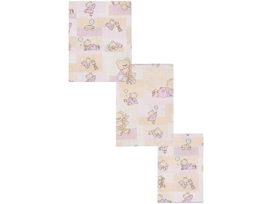 Постельный сет 7 предметов Тайна Снов Топтыжки (розовый)