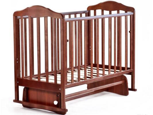 Кроватка с маятником СКВ Березка (орех/122007)