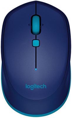 Мышь беспроводная Logitech M535 синий Bluetooth 910-004531