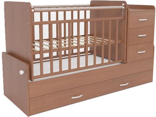 Кроватка-трансформер СКВ-5 (орех/534037)