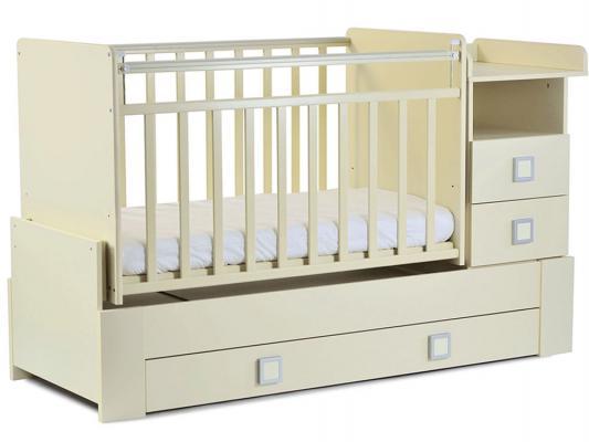 Кроватка-трансформер СКВ-8 (бежевый/830039)