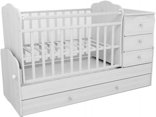 Кроватка-трансформер СКВ-9 (белый/930031)