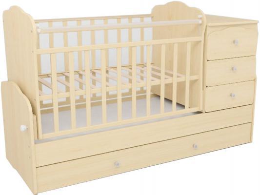 Кроватка-трансформер СКВ-9 (береза/930035)