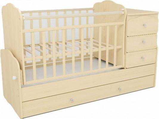 Кроватка-трансформер СКВ-9 (бежевый/930039)