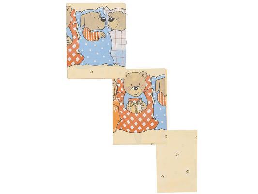 Постельный сет 7 предметов Сонный гномик Лежебоки (желтый)