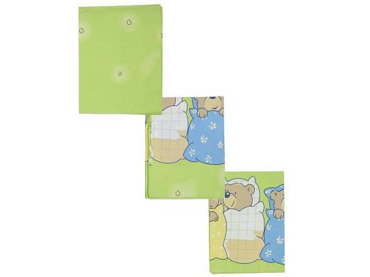 Постельный сет 7 предметов Сонный гномик Лежебоки (салатовый) сонный гномик постельное белье лежебоки 3 пред сонный гномик желтый
