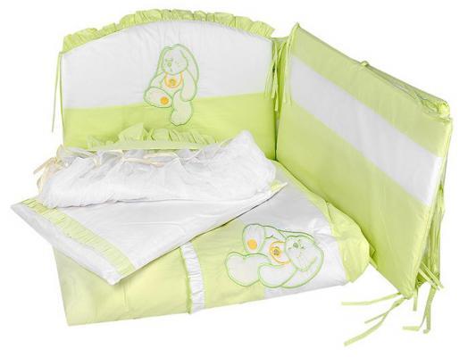 Постельный сет 7 предметов Сонный гномик Пушистик (салатовый) постельный сет 7 предметов тайна снов сыроежкины сны салатовый