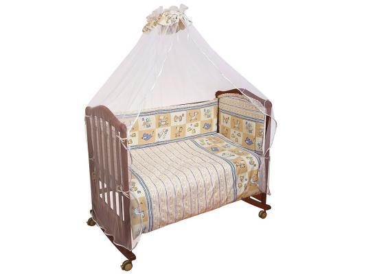 Постельный сет Сонный гномик Считалочка (бежевый) борт в кроватку сонный гномик считалочка бежевый бсс 0358105 4