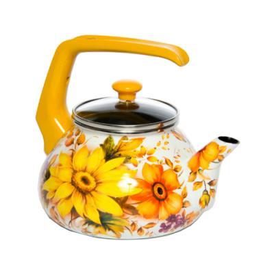 Чайник INTEROS Фантазия с рисунком 2.2 л металл 15063