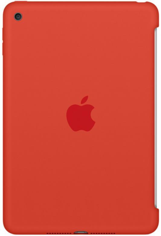 Чехол (клип-кейс) Apple Silicone Case для iPad mini 4 оранжевый MLD42ZM/A