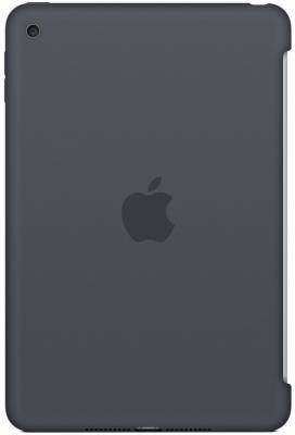 Чехол (клип-кейс) Apple Silicone Case для iPad mini 4 серый MKLK2ZM/A
