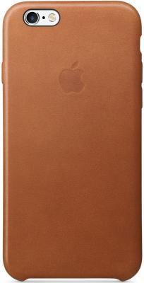 Чехол (клип-кейс) Apple Leather Case для iPhone 6 iPhone 6S коричневый MKXT2ZM/A