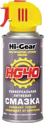 Универсальная литиевая смазка Hi Gear HG 5504 смазка hi gear hg 5503 универсальная