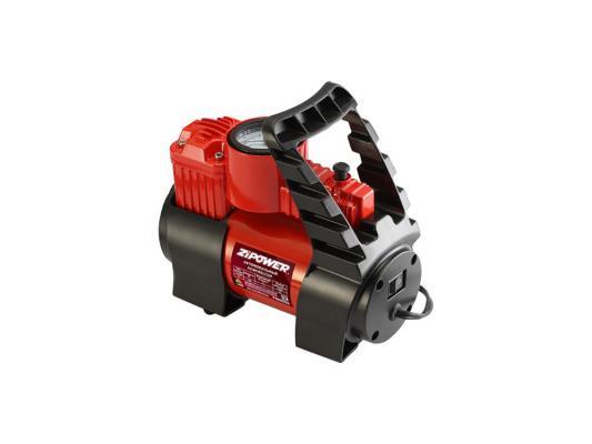 Автомобильный компрессор ZIPOWER PM 6507 35л/мин автомобильный компрессор с пылесосом zipower pm 6510 15л мин